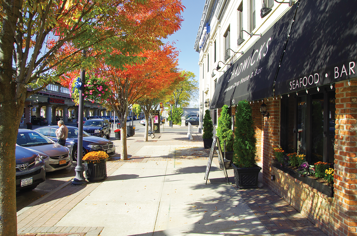 Visit Downtown Rockville Centre and see some Long Island's best shops and restaurants